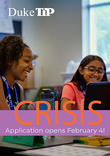Apply to CRISIS on February 4
