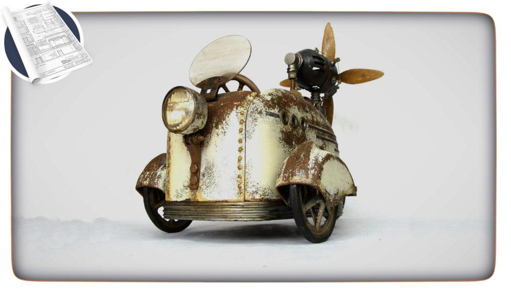 a fantastical car invention